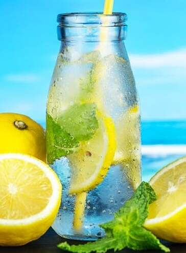 Free Natural Belly Slimming Water